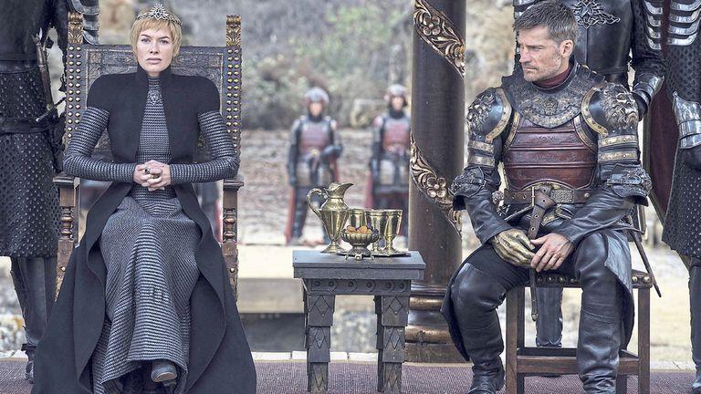Cersei y Jaime Lannister, en la encrucijada