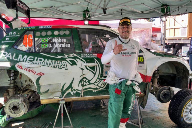 Palmeirinha, el equipo de rally de un expresidente de un club brasileño