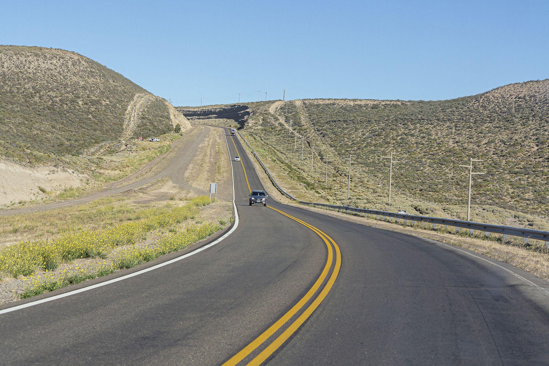Los largos trayectos de las rutas patagónicas le implicaron un gran esfuerzo