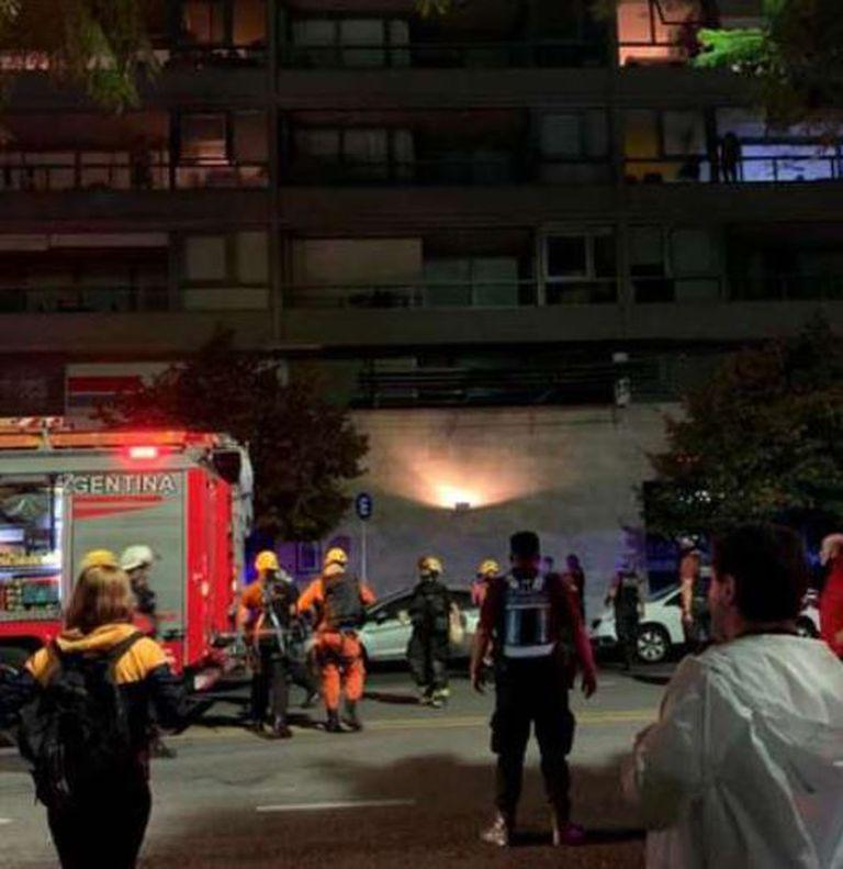 Puerto Madero: una niña de seis años cayó de un quinto piso