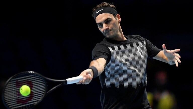 Roger Federer, en el O2 Arena