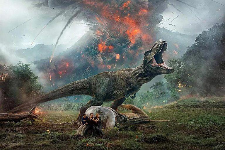 Jurassic world, una de las propuestas para  toda la familia de Netflix