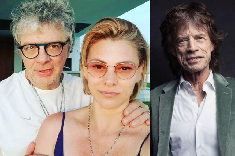 """El día que Mick Jagger quiso conquistar a la mujer de Juanse: """"¡Se armó una!"""""""