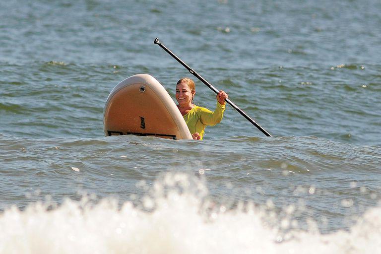 El martes 23, después del almuerzo con amigos en la playa, Ricardo y Florencia se despidieron de Punta del Este:   el jueves 25 emprendieron la vuelta