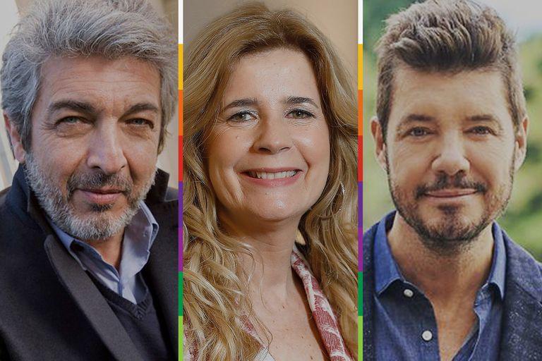 Marcelo Tinelli sindicalista, Ricardo Darín solidario y Mercedes Ninci en crisis