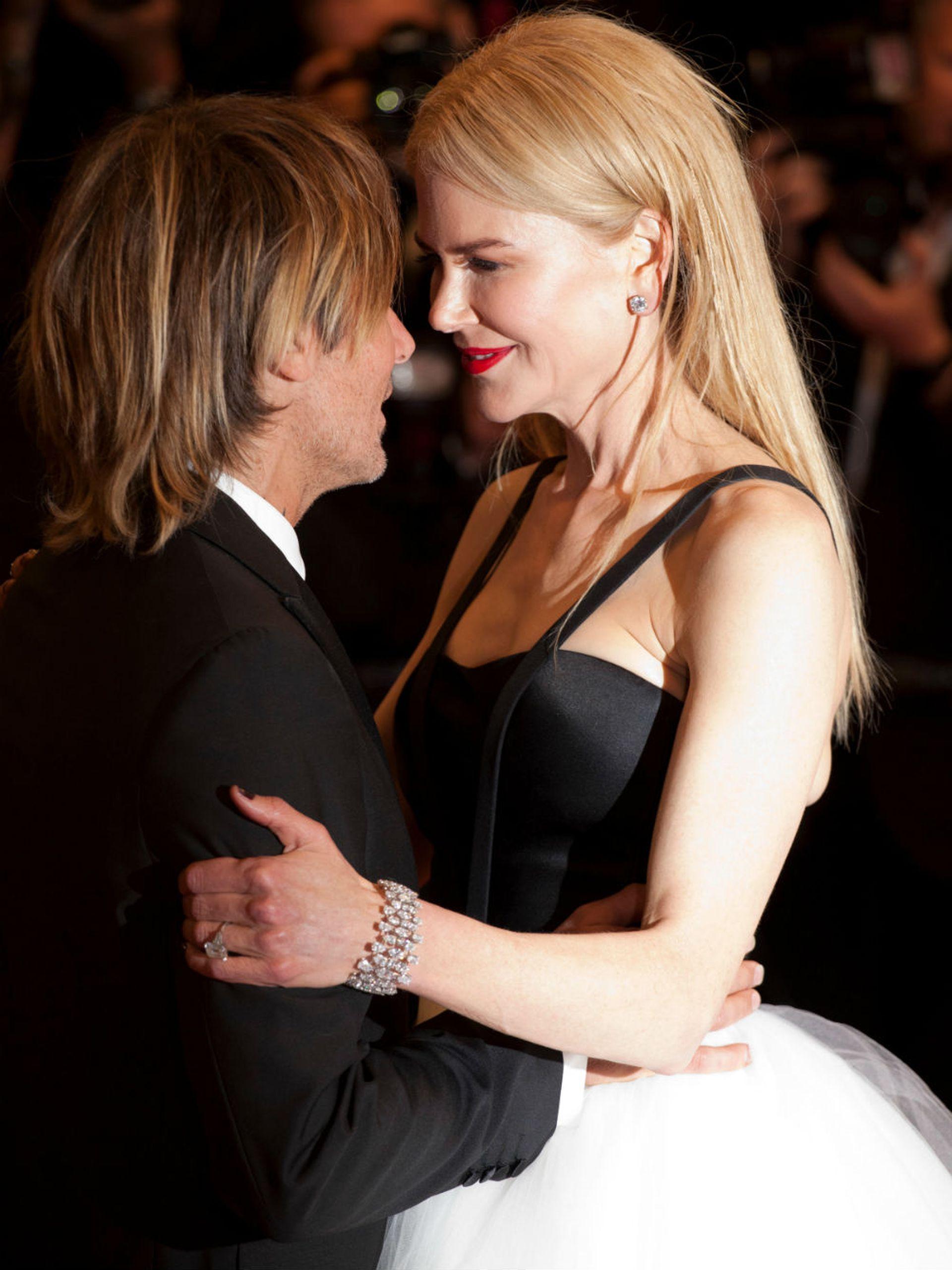Nicole conoció a Keith en 2005 y se casó con él al año siguiente, en Sydney, Australia