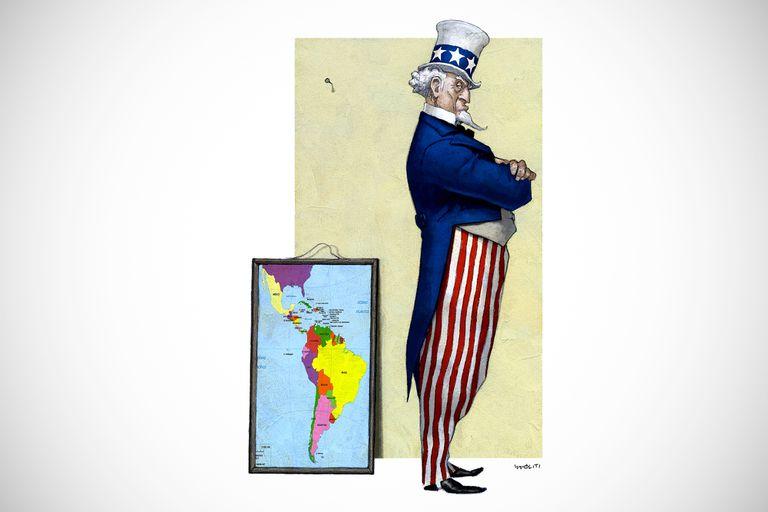 Retroceso. La influencia de EE.UU. en la región se diluye y la brecha crece