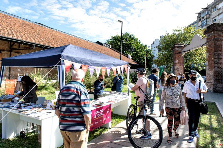Libros al aire libre en el Parque de la Estación, una propuesta cultural para el fin de semana largo