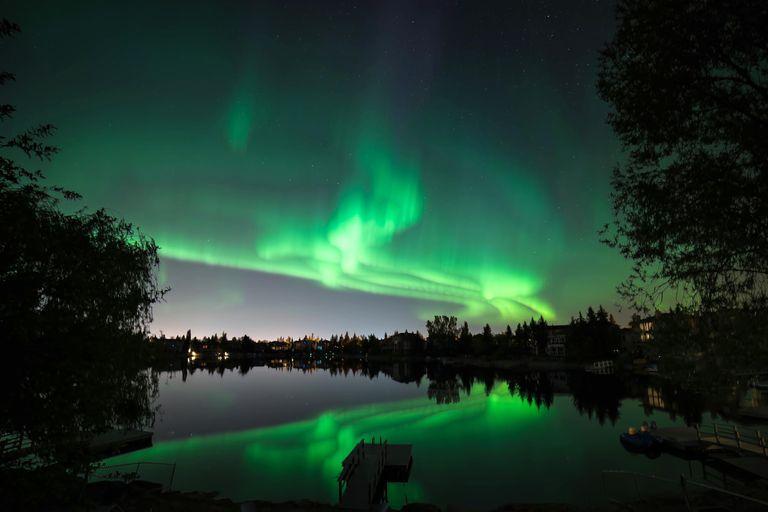 Auroras boreales en el cielo de Nueva York y Chicago este fin de semana