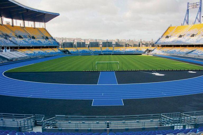 El estadio IBN Battuta, donde jugará la selección, en Tánger