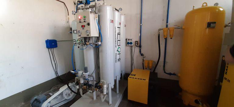 Un grupo de empresarios y productores agropecuarios del sur de Santa Fe donaron al hospital de Rufino una planta de oxígeno de tipo PSA