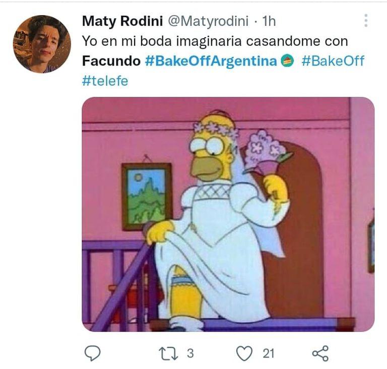Los fanáticos de Facundo compartieron divertidos memes