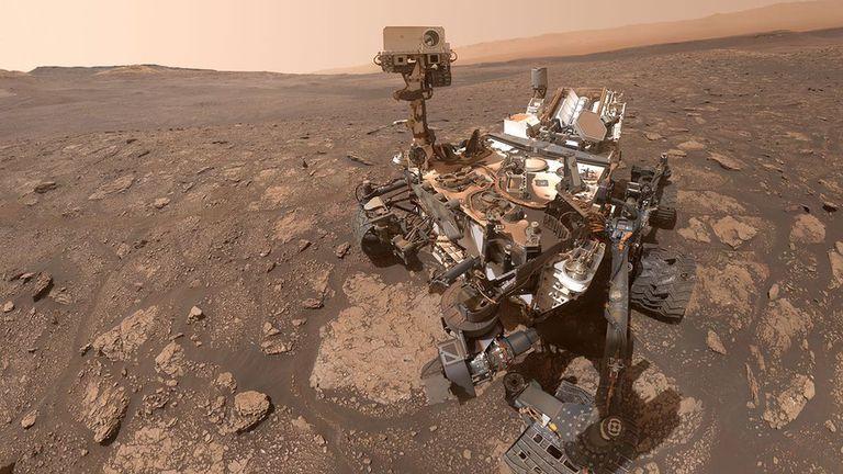 El rover Curiosity, de NASA
