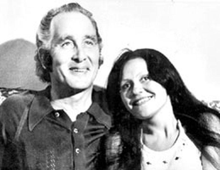 Biggs en Río con Raimunda, su entonces novia, en 1974
