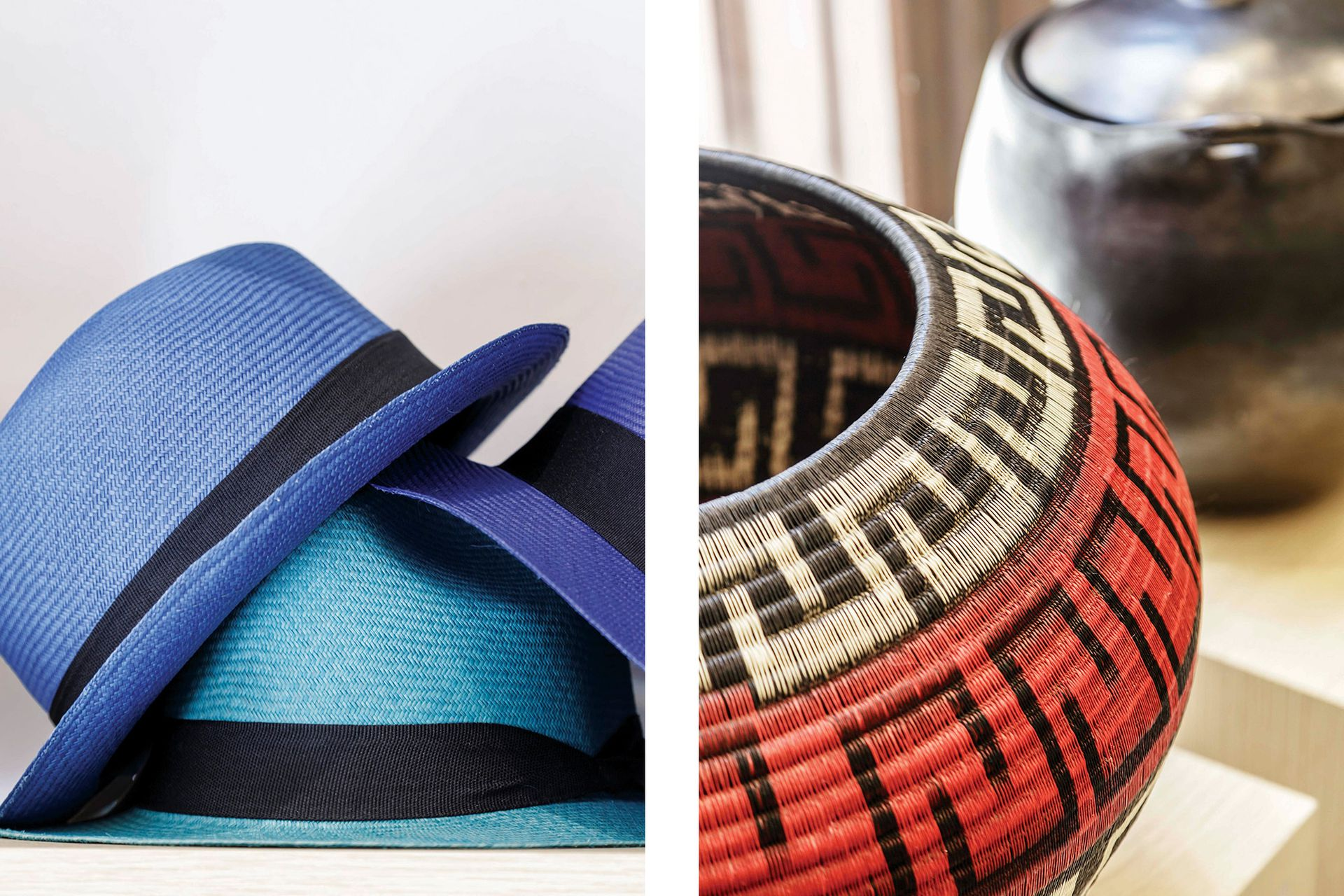 Entre más fino y flexible el tejido de palma de iraca, más fino el sombrero.