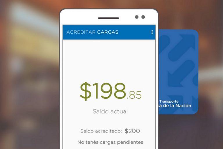 Vuelve a estar disponible la app para acreditar plata en la SUBE con el celular