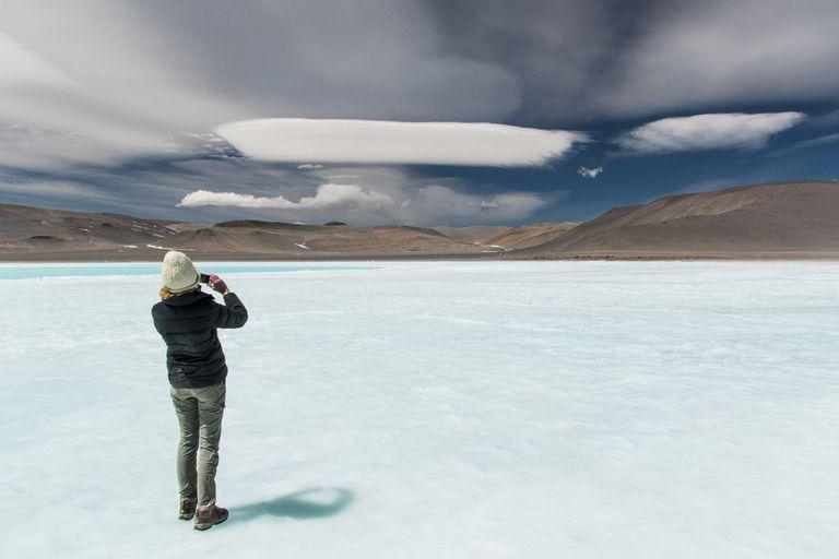 Catamarca. La Laguna Azul, la joya oculta en la ruta de los Seismiles
