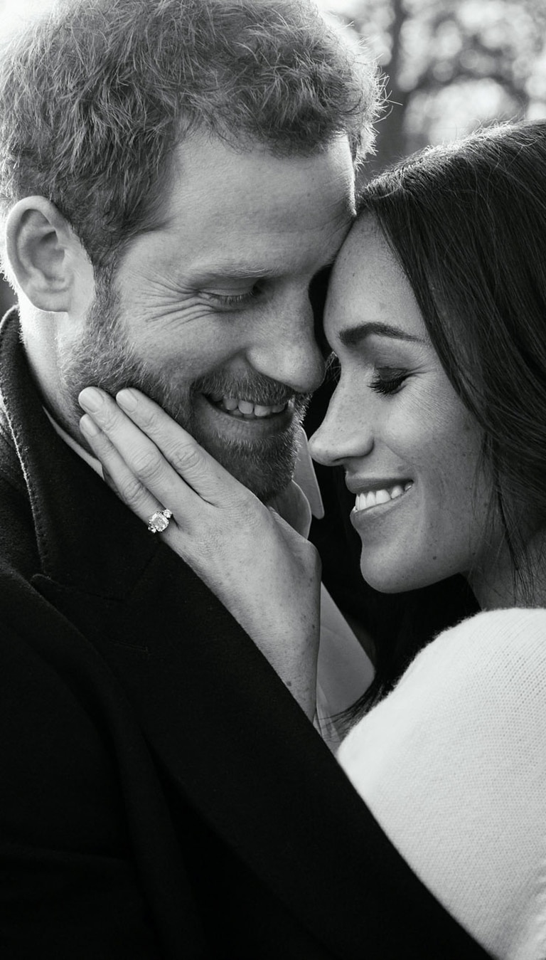 Harry y Meghan, cari?osos demuestran su amor