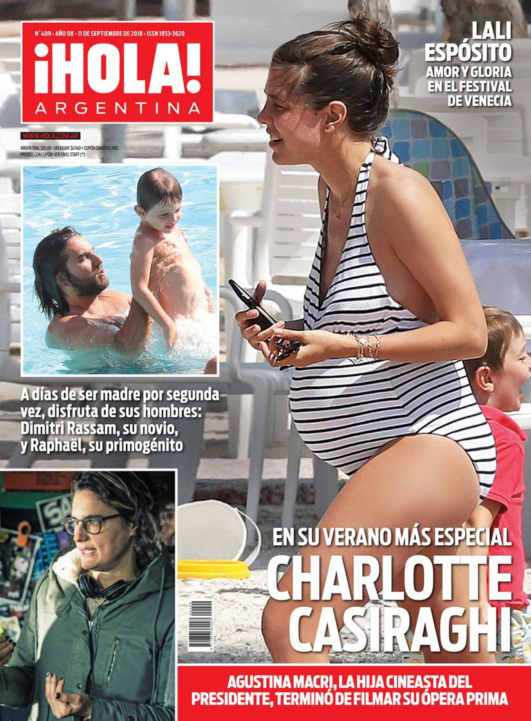 La tapa de ¡Hola! Argentina de esta semana.