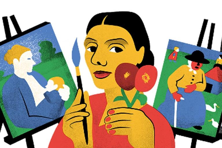 Google celebra el 142 aniversario de la pintora Modersohn-Becker
