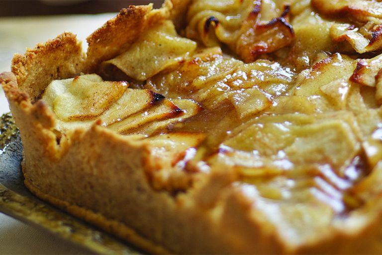 Tarta de Pésaj de manzana