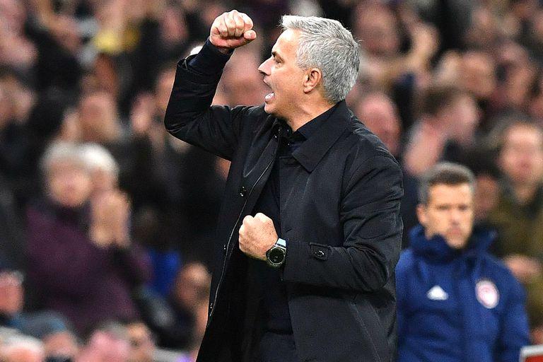 Partidazo: Tottenham, con el regreso de Mourinho, perdía 2-0 y ganó 4-2