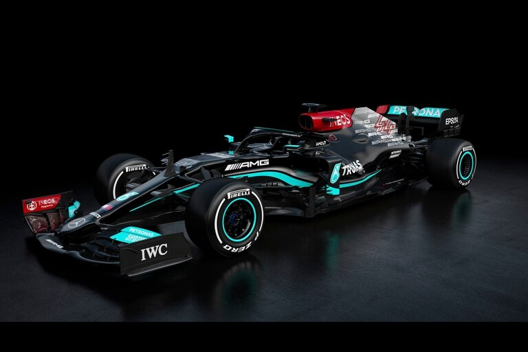 Primeras imágenes del W12, nuevo auto de la escudería Mercedes de Fórmula 1