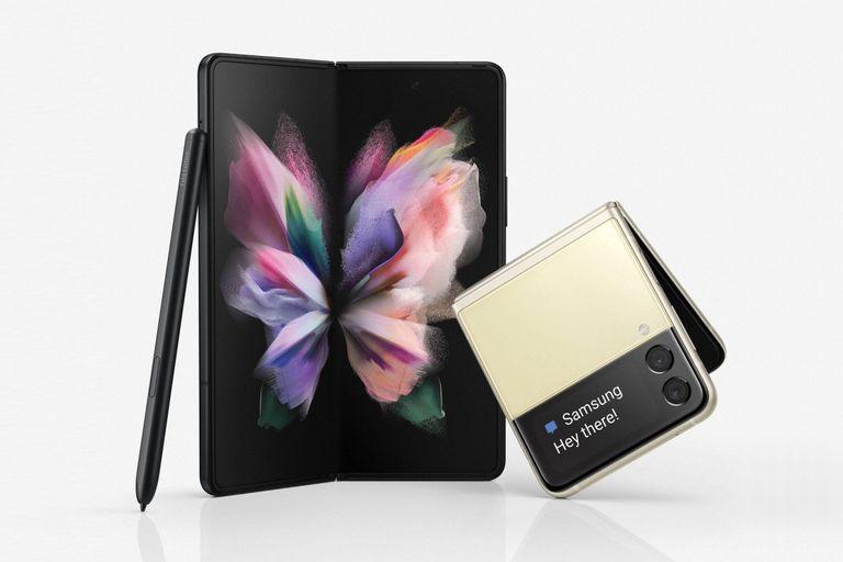 Los smartphones Galaxy Z Flip3 y Galaxy Z Fold3 ya se venden en el país