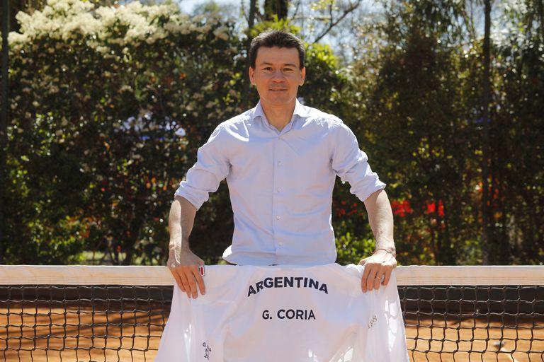 Guillermo Coria, el nuevo capitán argentino en la Copa Davis