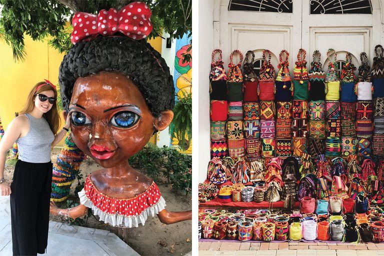 Bel en La casa del Carnaval en Barranquilla