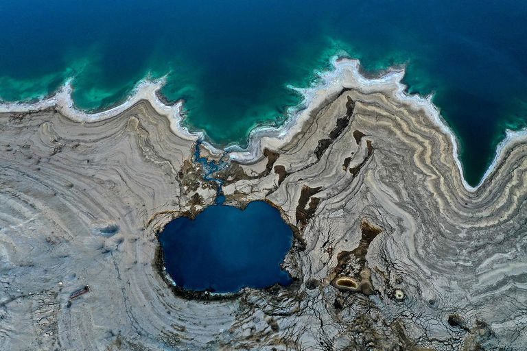 El Mar Muerto retrocede un metro por año: por qué se encoge y cómo puede seguir