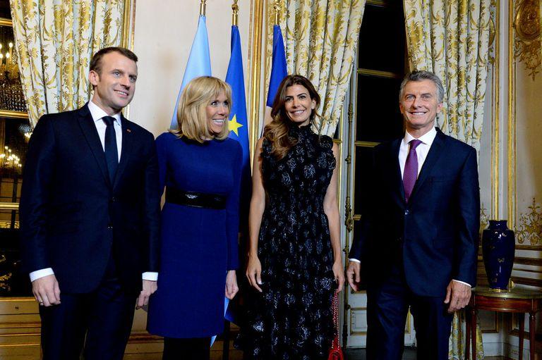 Con Brigitte Macron, Awada concluyó su agenda de reuniones en Europa