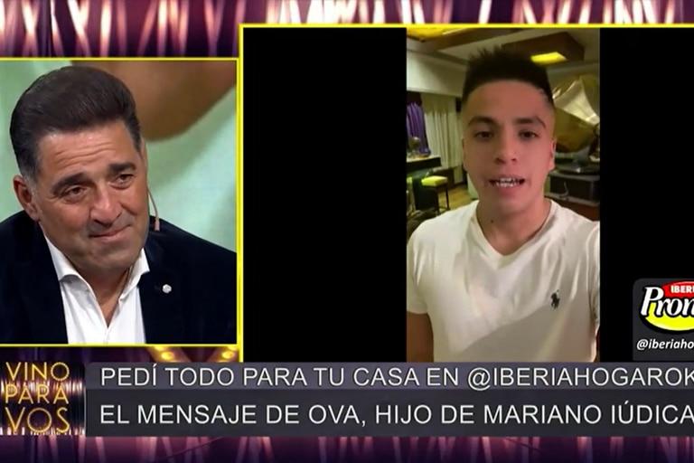 Mariano Iúdica adoptó a Osvaldo cuando el joven tenía nueve años