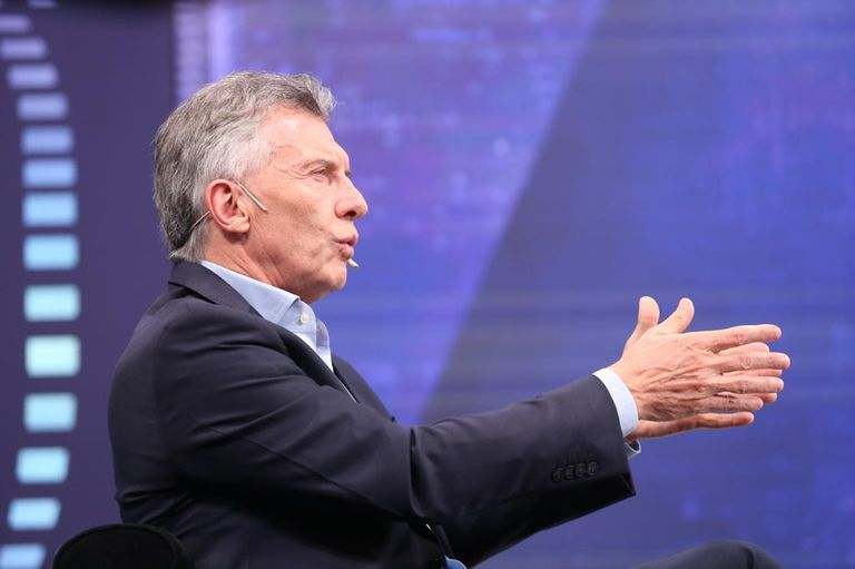 Mauricio Macri en LN+