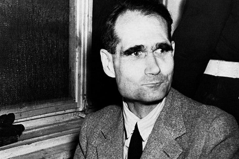 Rudolf Hess se quejaba de que lo estaban tratando de envenenar