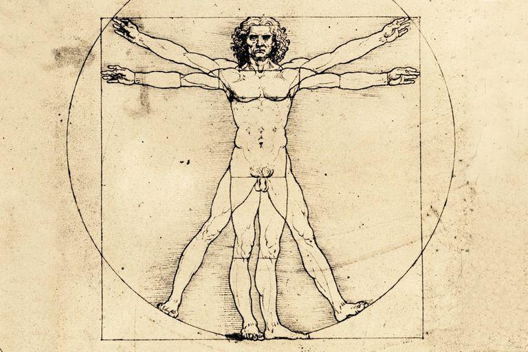 """""""El Hombre de Vitruvio"""", una de las grandes estrellas de exposición, por poco no llega al Louvre"""
