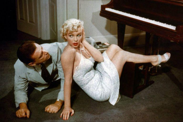 La comezón del séptimo año, el film de Billy Wilder en el que brilló Marilyn Monroe, aquél de la icónica escena del vestido al viento
