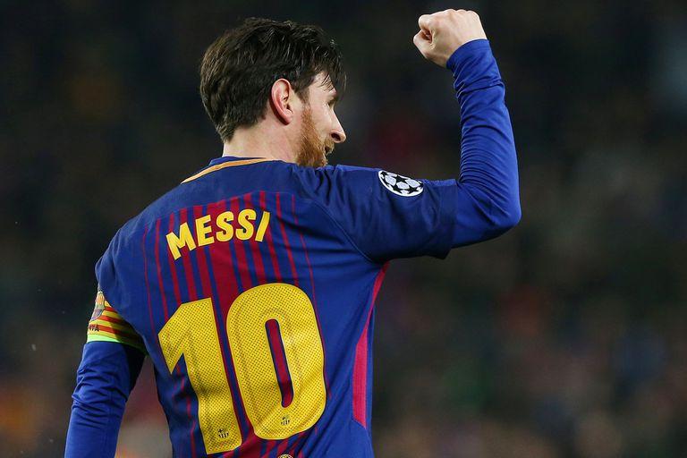 Messi, centenario, padre en la casa y tutor en la cancha