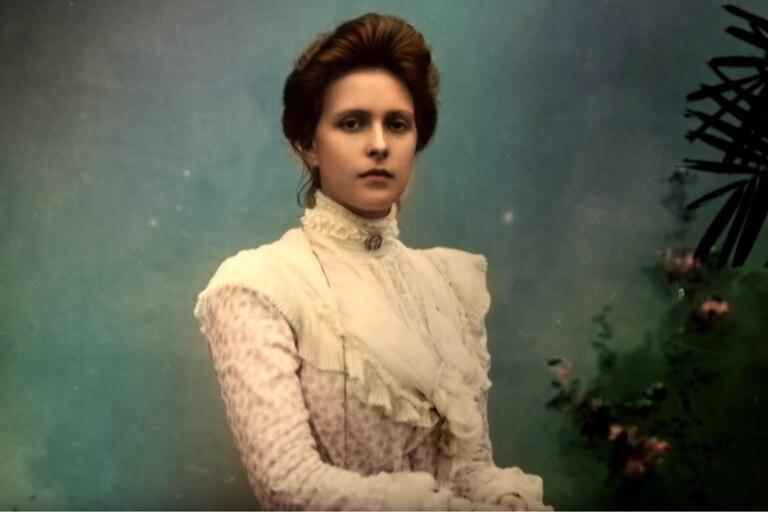 Alicia de Battenberg, en su juventud.