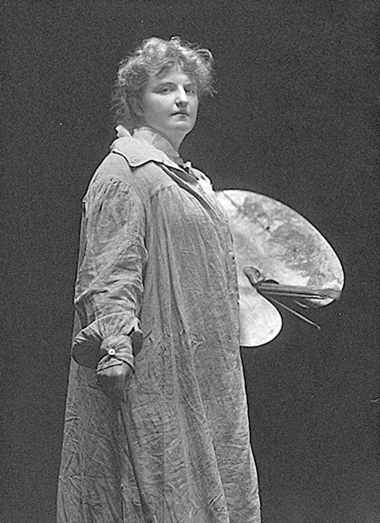 La vocación artística de Katherine Dreier estaba en la pintura. Su principal lucha fue por los derechos de la mujer.