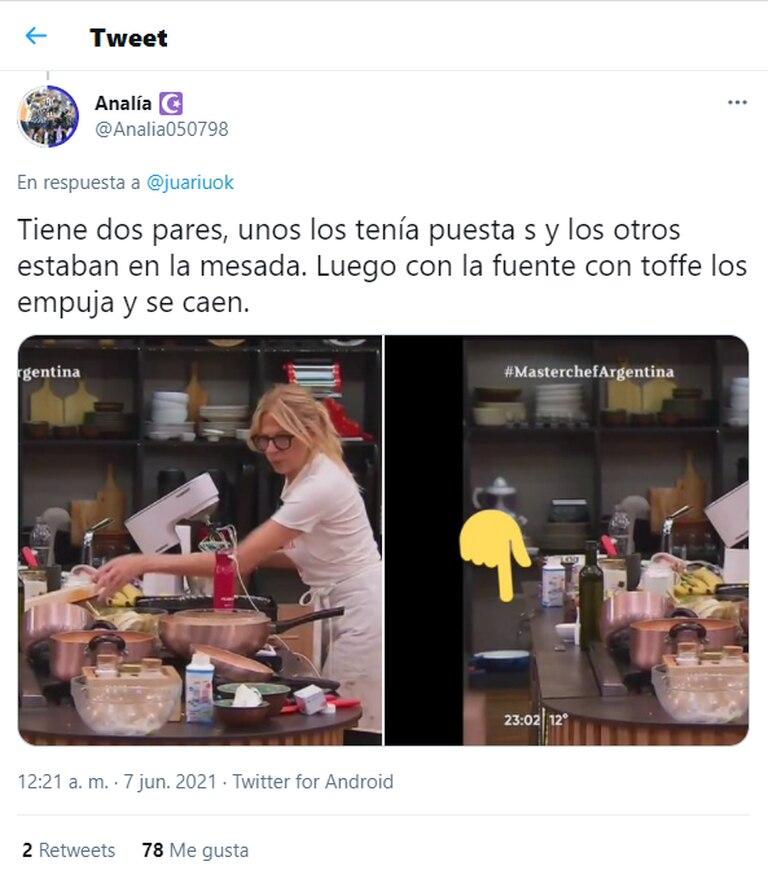 Los usuarios defendieron a Claudia Fontán luego de que se viralizara que tenía dos pares de anteojos
