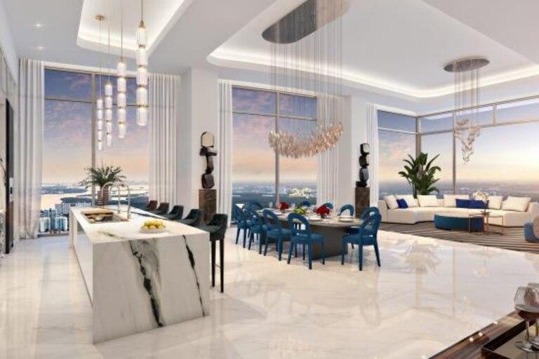 Recreación digital de cómo se verá el Palazzo di Paradiso, en Florida