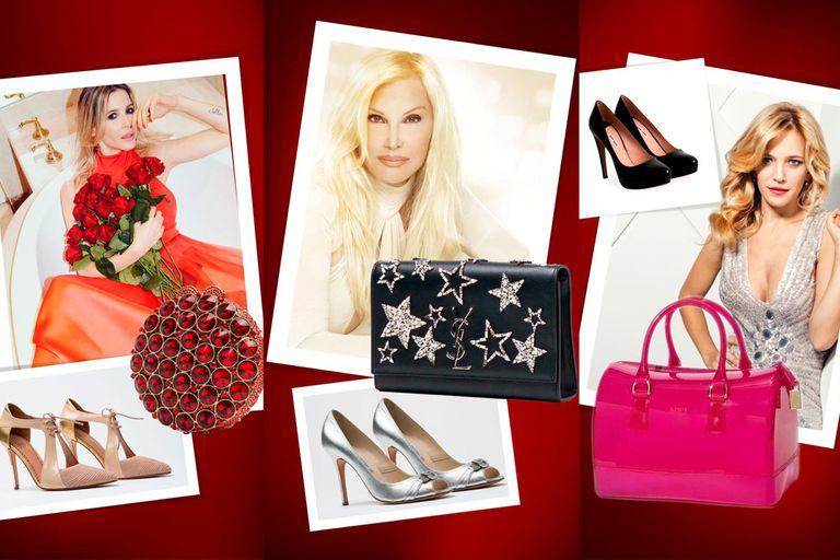 Zapatos y carteras. Las piezas de lujo que donaron las famosas para la Cruz Roja