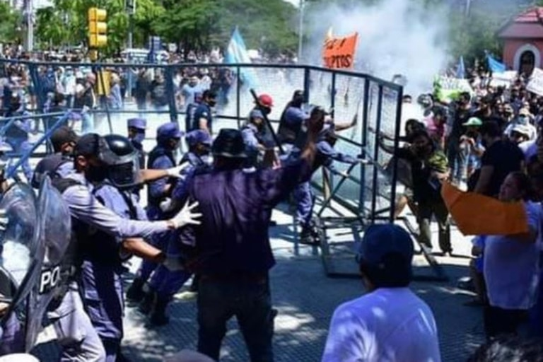 Incidentes y protestas en Formosa