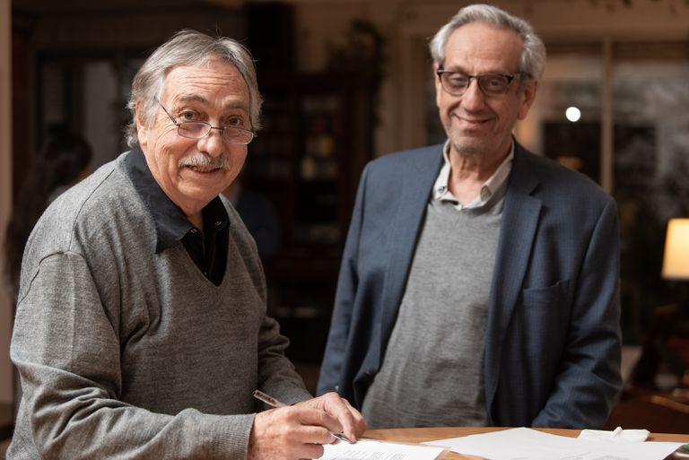 Luis Bandoni y Facundo Suárez Lastra