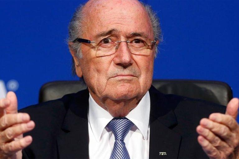 Sepp Blatter, presidente de la FIFA cuando se anunció a Qatar como organizador del próximo Mundial
