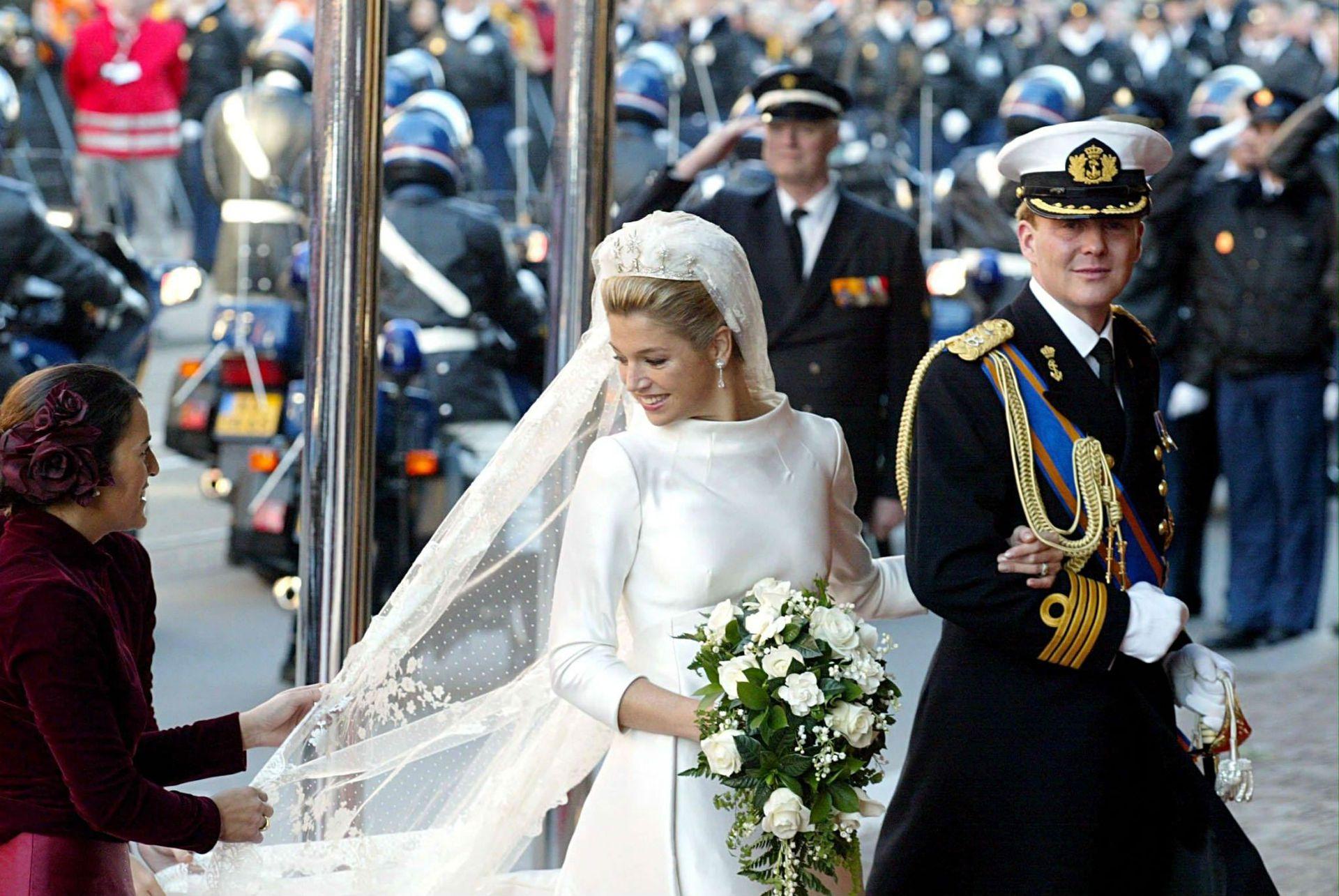 El 2 de febrero de 2002, la argentina Máxima Zorreguieta se casó con el príncipe Guillermo de Holanda