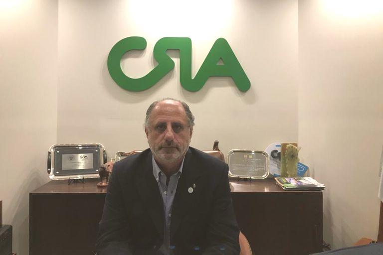 Jorge Chemes, el presidente de CRA