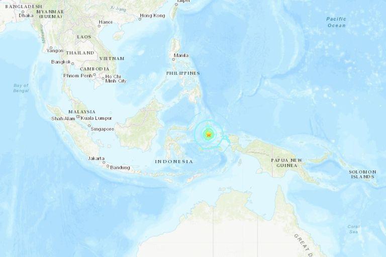 Indonesia: un sismo de 7,3 grados generó caos y pánico en el este del país