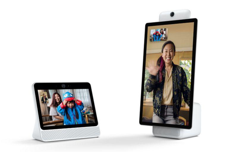 El dispositivo con pantalla para videollamadas de Facebok está disponible en dos modelos y se enfrenta de forma directa con las propuestas de Amazon y Google en el segmento de los parlantes inteligentes